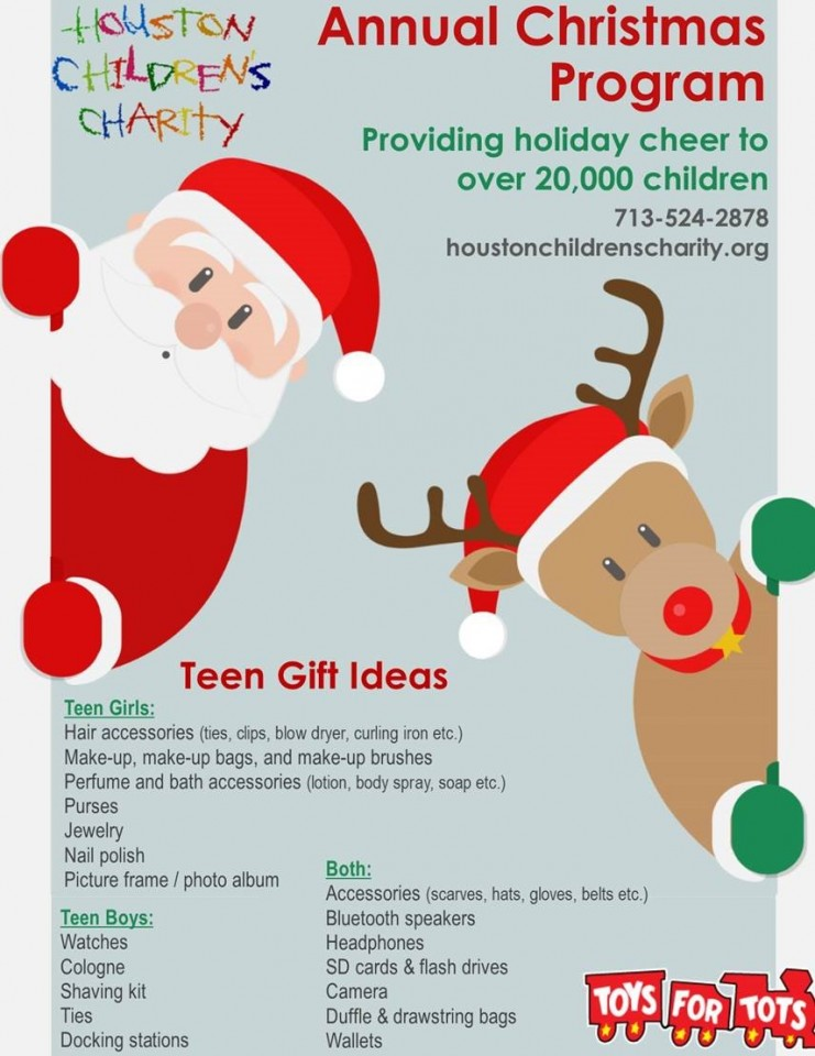 toys for teens and tots